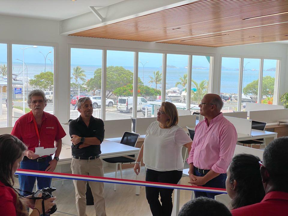 Inauguration de l'Espace de Travail Partagé de Boulari